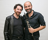 Mourad (L) and Azmeh (R)